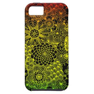Flor de Rasta iPhone 5 Carcasa