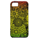 Flor de Rasta iPhone 5 Case-Mate Cárcasa