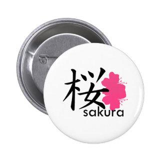 Flor de Sakura Pins