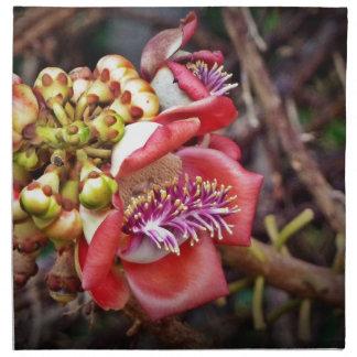 Flor de Sala de la fruta del obús Servilleta De Papel