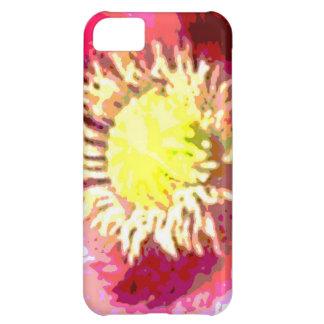 Flor de Sun del girasol Funda Para iPhone 5C