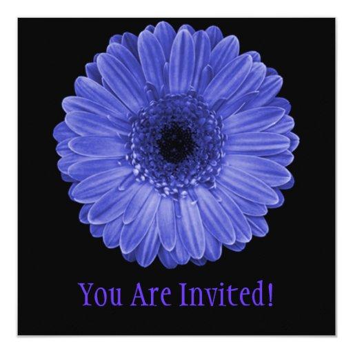 "Flor de Sun Invitación 5.25"" X 5.25"""