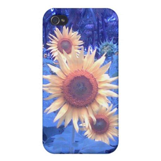 Flor de Sun - iPhone 4 casos iPhone 4 Funda