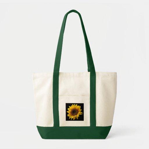 Flor de The Sun Bolsas De Mano