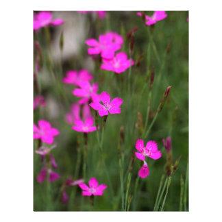 Flor de un rosa virginal membretes personalizados