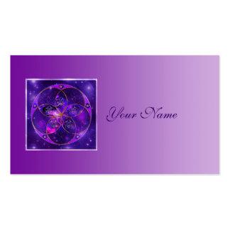Flor de Venus del universo del fineART del amor Plantilla De Tarjeta De Negocio