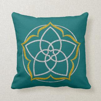 FLOR de VENUS/ORO DE PLATA de Venusblume Lotus Cojines