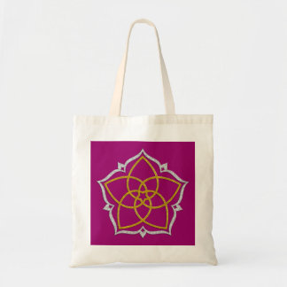 FLOR de VENUS/PLATA del ORO de Venusblume Lotus Bolsas De Mano