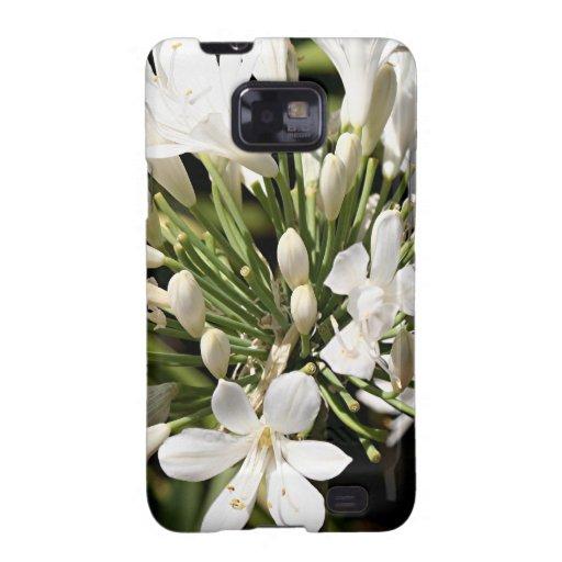 Flor del Agapanthus en la floración Samsung Galaxy SII Carcasa