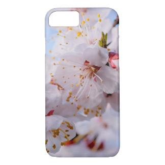 Flor del albaricoque japonés funda iPhone 7