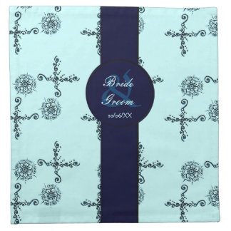Flor del amor (alheña) (azul) servilletas