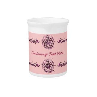 Flor del amor (alheña) (rosa) jarron