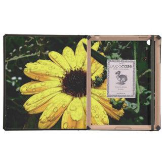 Flor del amor iPad carcasas