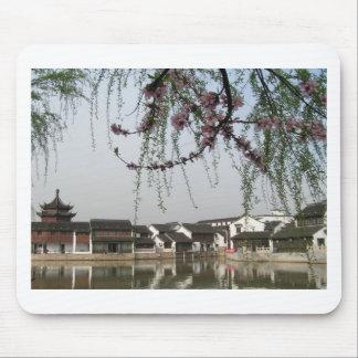 Flor del árbol en China Mouse Pad