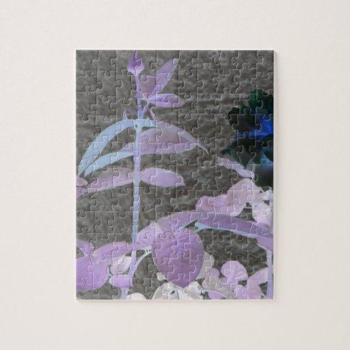 Flor del arte puzzle