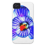 Flor del azafrán iPhone 4 Case-Mate funda