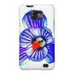 Flor del azafrán samsung galaxy SII carcasas