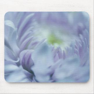 Flor del azul de la lavanda alfombrillas de raton