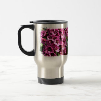Flor del Bergenia; Ningún texto Taza De Café