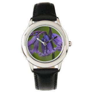 Flor del Bluebell Reloj De Mano