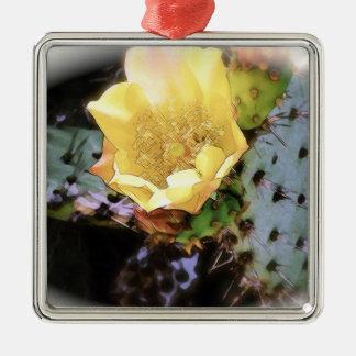 Flor del cactus - (1280x1024) _1 adorno cuadrado plateado