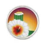 Flor del cactus pin