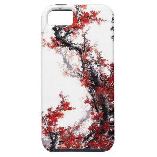 Flor del ciruelo--Pintura china Funda Para iPhone 5 Tough