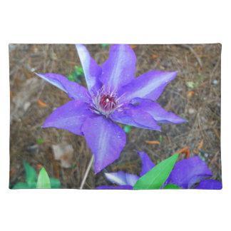 Flor del Clematis púrpura