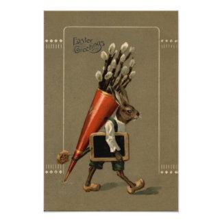 Flor del conejito de pascua fotografía
