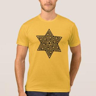 Flor del cubo de Merkaba - de Metatrons de la vida Camisetas
