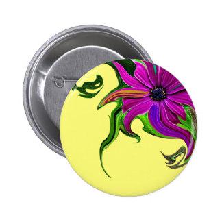 Flor del Cyclamen Pin Redondo 5 Cm