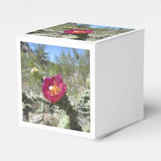 Flor del desierto de Cholla del bastón Cajas Para Detalles De Boda