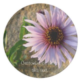 Flor del desierto; Personalizable Plato De Comida