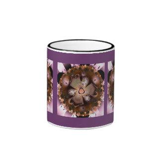 Flor del desierto taza a dos colores