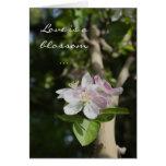 Flor del flor - saludo del amor tarjeton