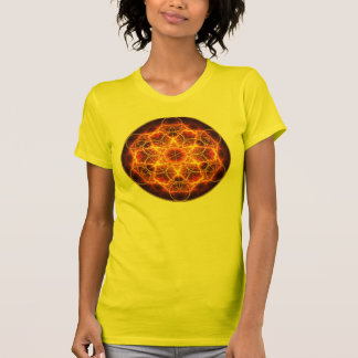 Flor del fractal de la vida - el cubo de Metatron Camiseta