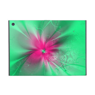 Flor del fractal iPad mini carcasa