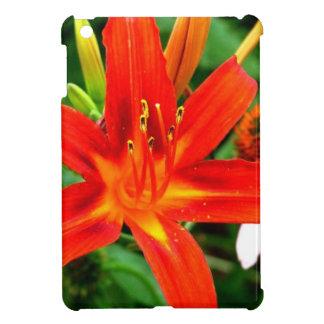 Flor del fuego iPad mini cobertura