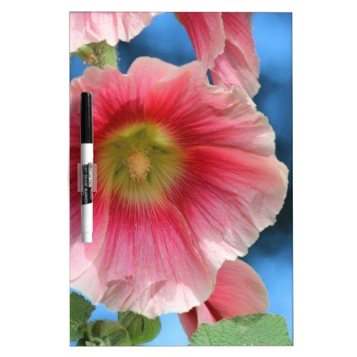 flor del garend tablero blanco
