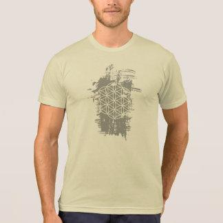 Flor del Grunge de la vida Camisetas