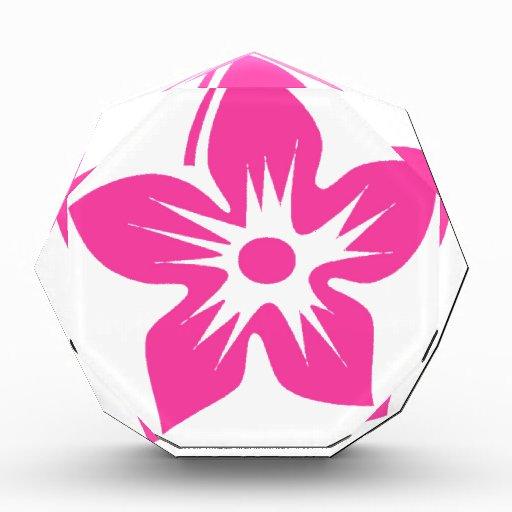 Flor del Hawaiian de las rosas fuertes