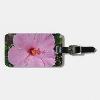 Flor del hibisco de Hawaii Etiquetas De Maletas