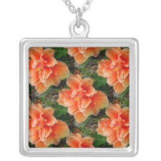 Flor del hibisco del albaricoque grimpolas personalizadas