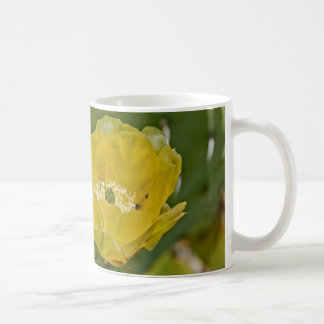 Flor del higo chumbo taza clásica