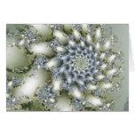 Flor del invierno con los saludos de la estación tarjetón
