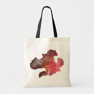 flor del iris del diseño de la lentejuela bolsa tela barata