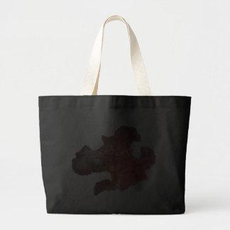 flor del iris (imagen digital) bolsas de mano