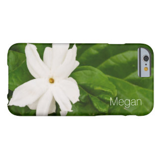 Flor del jazmín funda de iPhone 6 slim