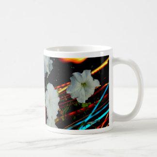 flor del laser taza