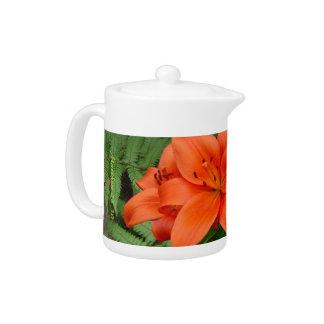 Flor del lirio - naranja iridiscente Matt 28-30